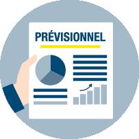 Budget prévisionnel,<br/> suivi de gestion<br/> et conseil